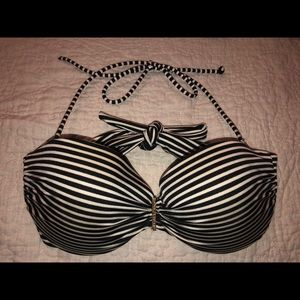 Victoria's Secret Structured striped Bikini Top
